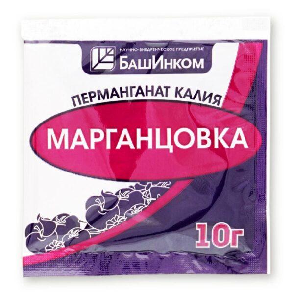 Марганцовка БашИнком (перманганат калия) 10 г.