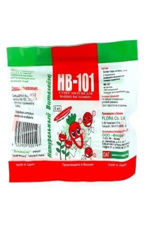 НВ-101 стимулятор роста, виталайзер жидкий концентрат экстракта 6 мл.